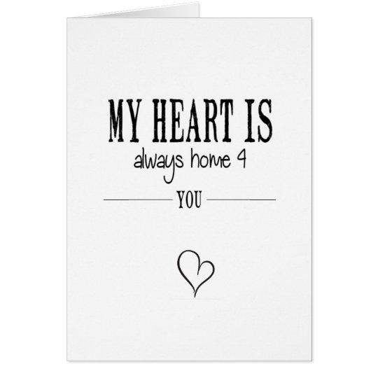 my heart briefkaarten 0