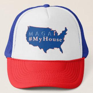 #MyHouse het Pet van de Vrachtwagenchauffeur MAGA