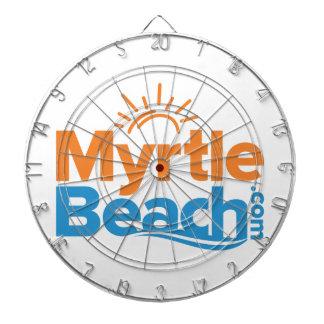 MyrtleBeach.com Logo Dartbord