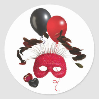 Mystere Ronde Stickers