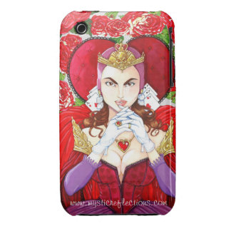Mysticus Bezinningen Rode Koningin Phone Case