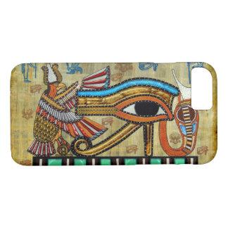 Mystiek Oud Egyptisch Oog van het Hoesje van de
