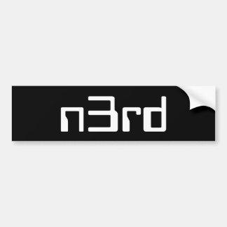 n3rd bumpersticker