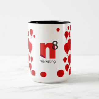n8 de marketing van 15 oz. De Mok van de Ballon