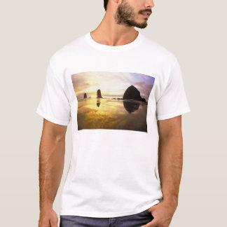 N.A., de V.S., Oregon, de Zonsondergang van het T Shirt