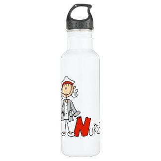N is voor Verpleegster Waterfles