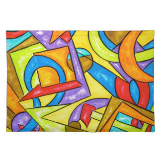 Na de Instructies - Abstract Art. Placemat