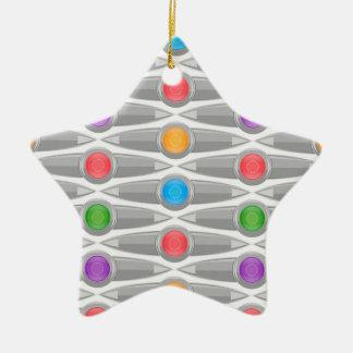 naadloos-patroon #10 keramisch ster ornament