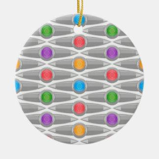 naadloos-patroon #10 rond keramisch ornament