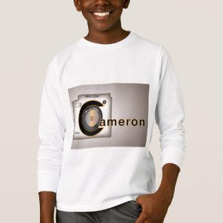 Naam die T Des:  Het kinder lange sleeve T van T Shirt