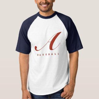 Naam DIY+Het Team van het Honkbal van het aantal T Shirts