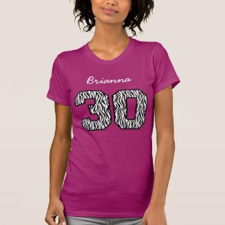 naam van de Douane van de 30ste Verjaardag de Gest Tshirts