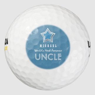 Naam van de Douane van de geweldige OOM de Blauwe Golfballen