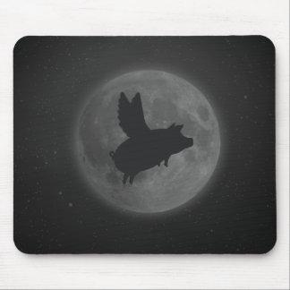nachtelijk vliegend varken muismat
