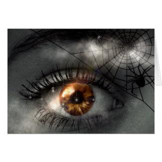 NACHTMERRIE! (oog - spinneweb) ~ Kaart
