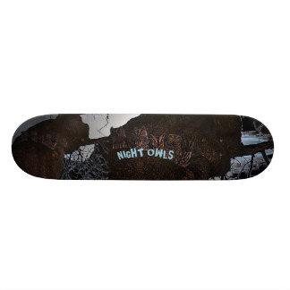 Nachtuilen 18,4 Cm Mini Skateboard Deck
