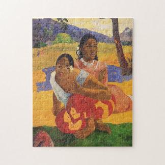"""Nafea Faa Ipoipo"" - Paul Gauguin Legpuzzel"