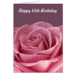 Nam de 65ste Kaart van de Verjaardag toe