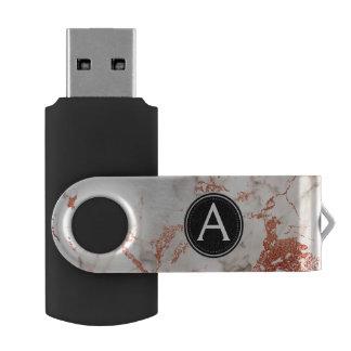 Nam de Gouden Marmeren Aandrijving van de Duim van USB Stick
