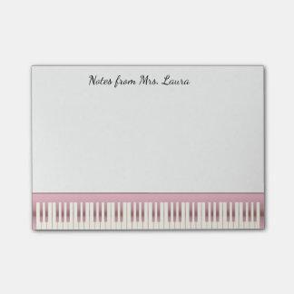 Nam de Gouden Muziek van het Toetsenbord van de Post-it® Notes