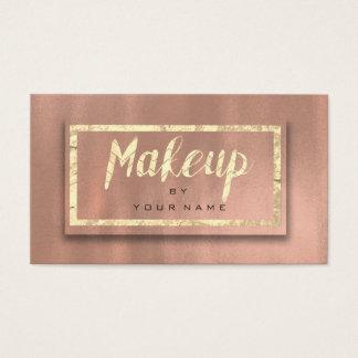Nam Goud blozen 3D de Kunstenaar van de Make-up Visitekaartjes