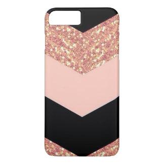 Nam Goud & Zwarte toe iPhone 8/7 Plus Hoesje