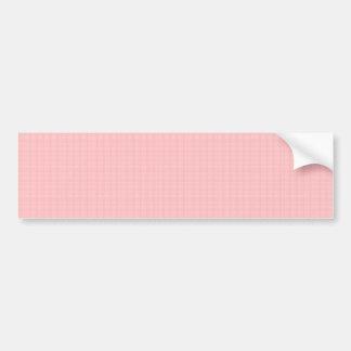 Nam het kunstenaar creëere roze van het KRISTAL Bumpersticker