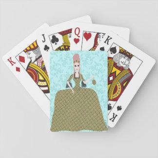 Nam Marie toe Pokerkaarten