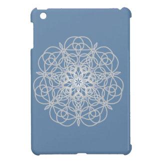 Nam medaillon in zacht zilver toe iPad mini cases