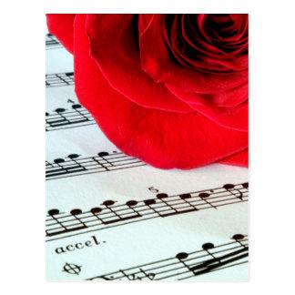 Nam & Muziek - de Minnaar van de Muziek toe Briefkaart