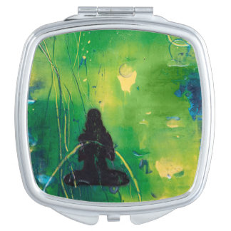 Namaste - Compacte Spiegel Reisspiegeltjes
