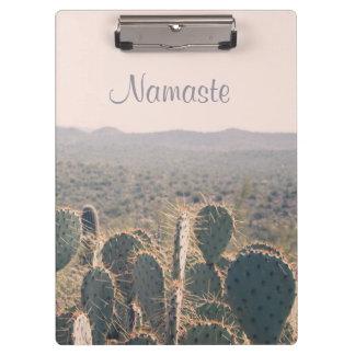 Namaste - de Cactussen van Arizona | Klembord
