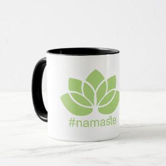 #namaste de Mok van de Koffie van de Yoga van