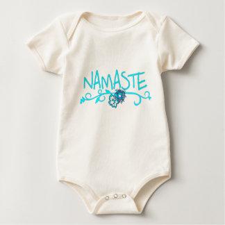 Namaste - (de Organische) Kleding van de Yoga van Baby Shirt