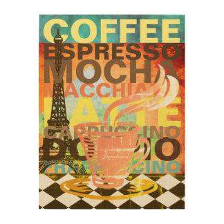 Namen van de Drank van de Kunst van de koffie de
