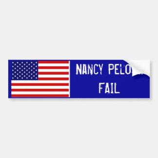 Nancy Pelosi: ONTBREEK Bumpersticker