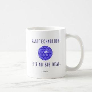 Nanotechnologie.  Het is Geen Grote Overeenkomst. Koffiemok
