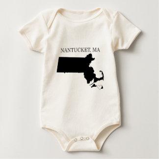 Nantucket Massachusetts Baby Shirt