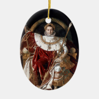 Napoleon Bonaparte Keramisch Ovaal Ornament