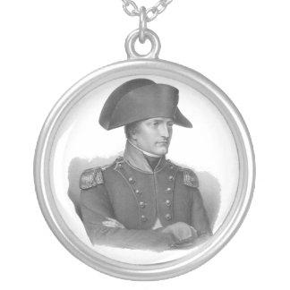 Napoleon Bonaparte Zilver Vergulden Ketting