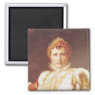 Napoleon I in de Robes van de Kroning, c.1804 Magneet