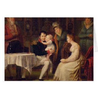 Napoleon I Marie Louise en de Koning van Rome Wenskaart