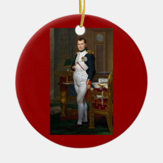 Napoleon in zijn Studie over Ornament