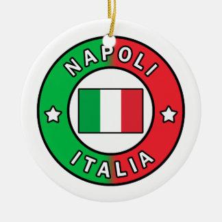 Napoli Italië Rond Keramisch Ornament