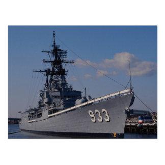 """NAS """"Anacostia"""", """"USS Barry"""", herdenkingsschip, Briefkaart"""