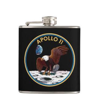 NASA Apollo 11 Maan die de MaanInsignes van het Heupfles