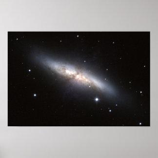 NASA - Starburst Melkweg M82 Poster