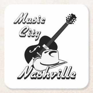 Nashville. De stad van de muziek Vierkante Onderzetter