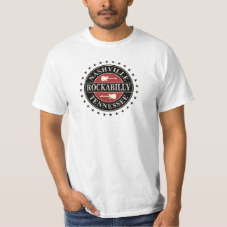 Nashville Rockabilly Tennessee T Shirt