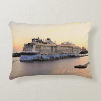 Nassau de Dageraad van de Haven met het Schip van Accent Kussen